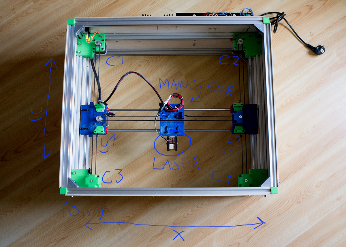 Building a laser engraver part technical insights