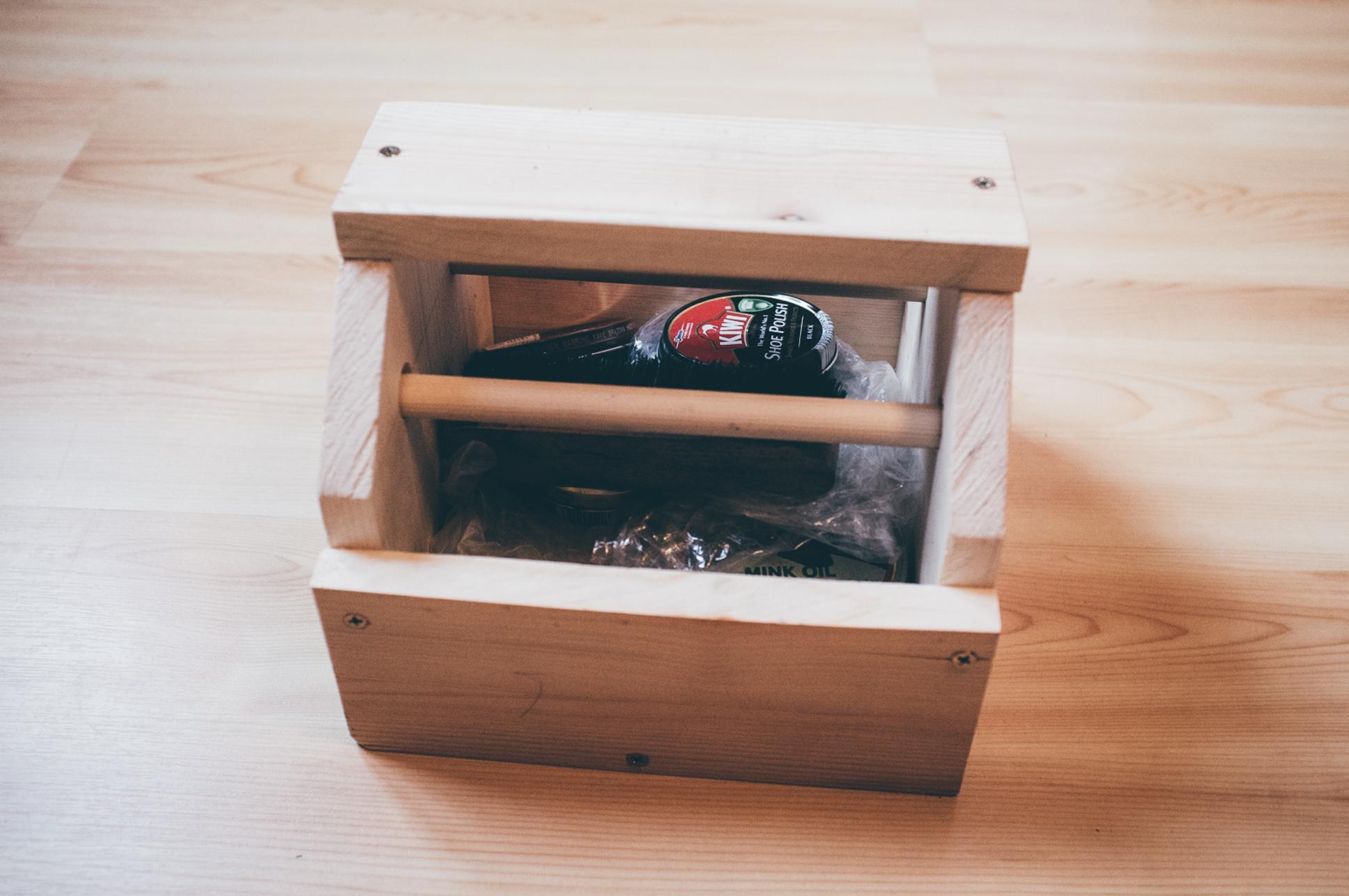 Building a Shoe Shine Box