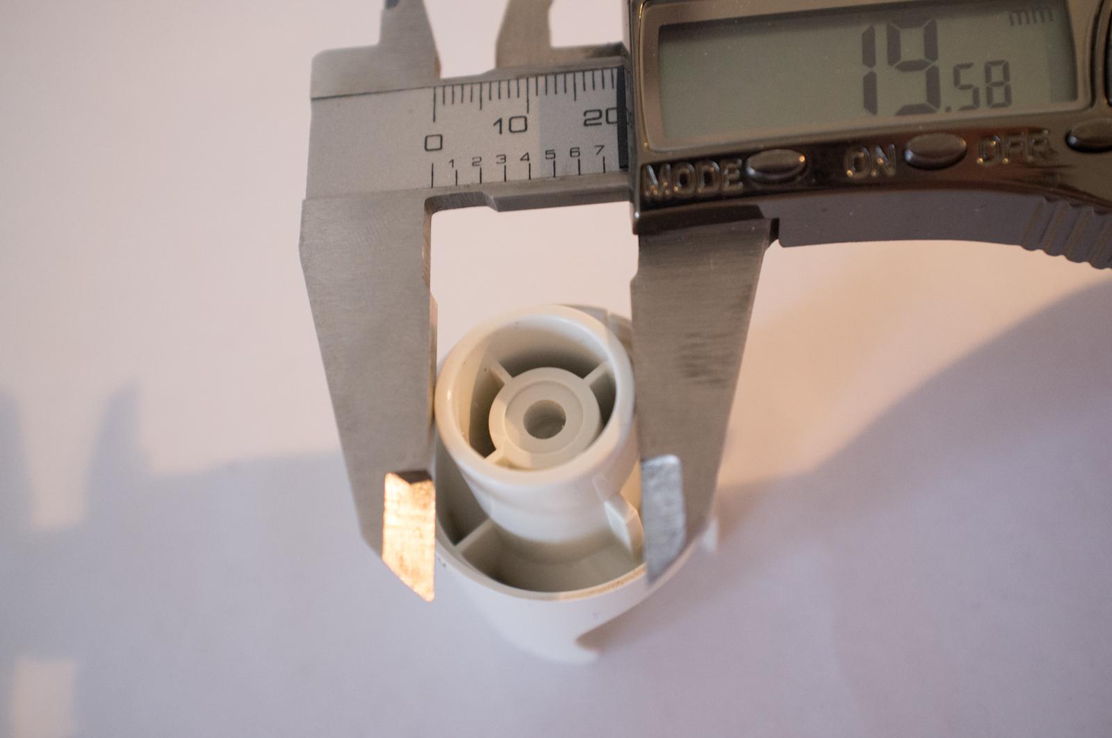 Measuring original part