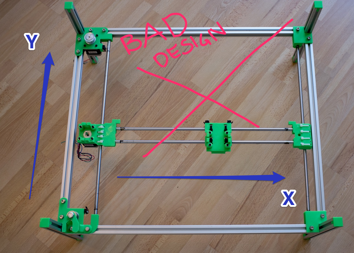 Laser Engraver first mechanical concept