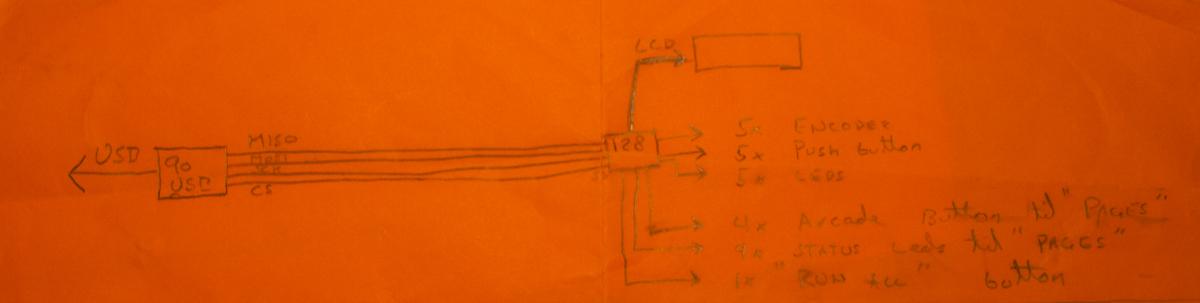 Electronics sketch