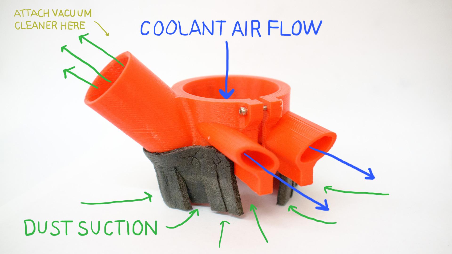 An Open Source Cnc Dust Shoe