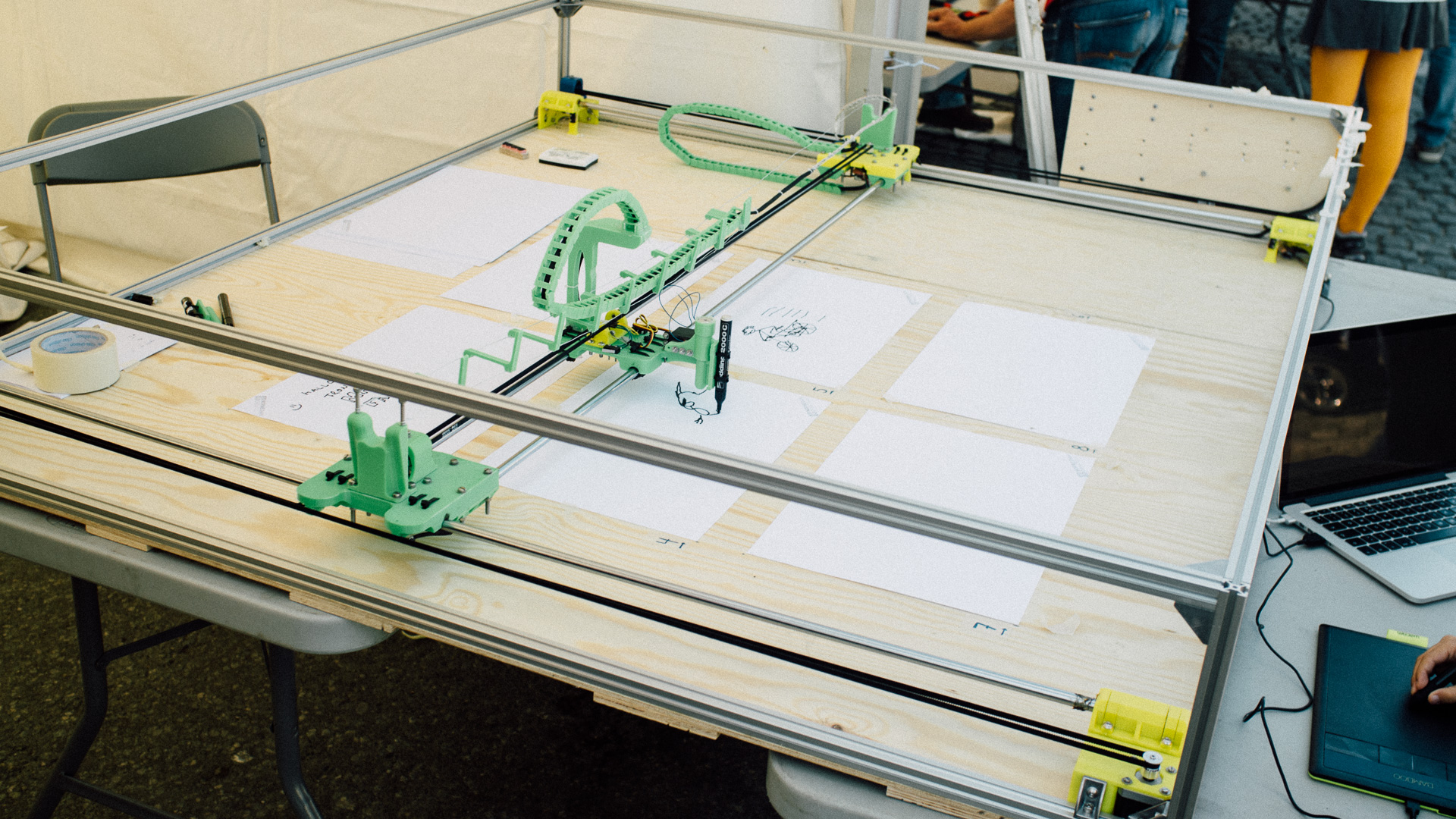 Making A Plotter For Trondheim Maker Faire Part 1 An