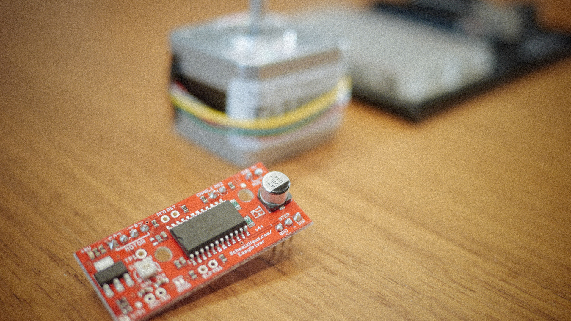 Arduino Tutorial EasyDriver and Stepper Motor HEAD