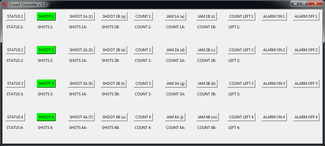 Crowd Controller v. 0.1