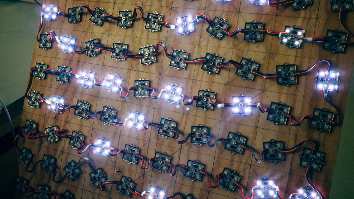Testing the LED Board