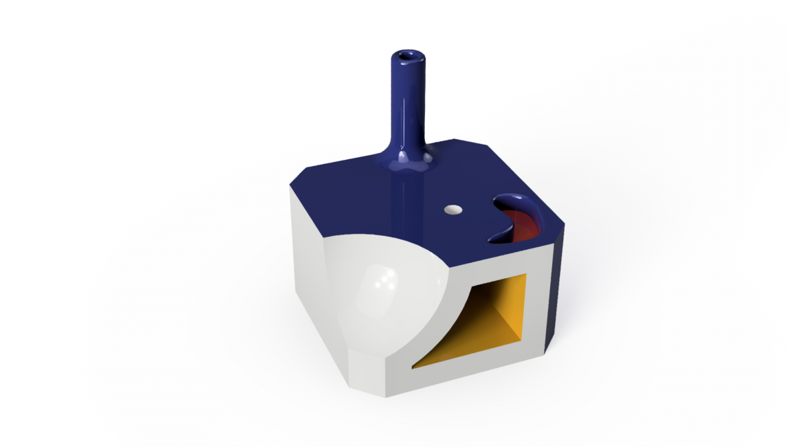 A 5 minute long model and render job in Fusion 360. Quick, easy and effective!