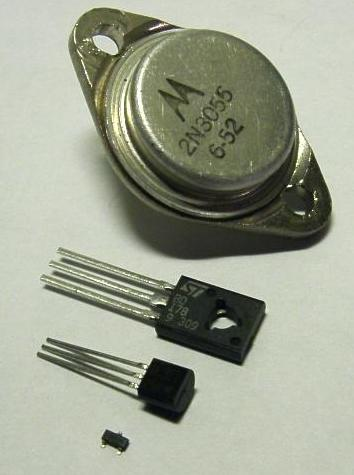 A few different transistors