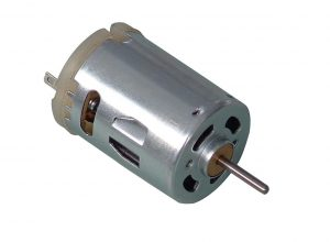 A standard DC motor (source: http://made-in-china.com)