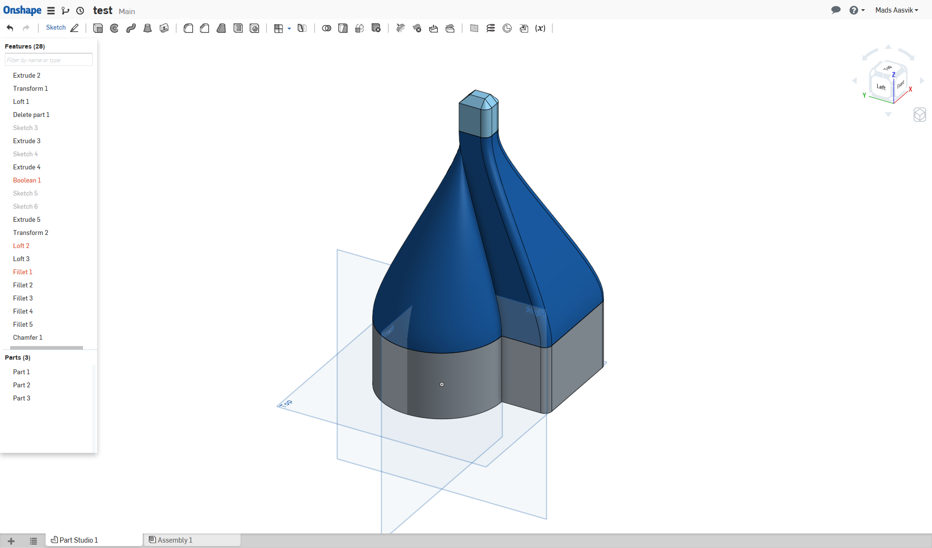 a quick look at the free browserbased cad software onshape