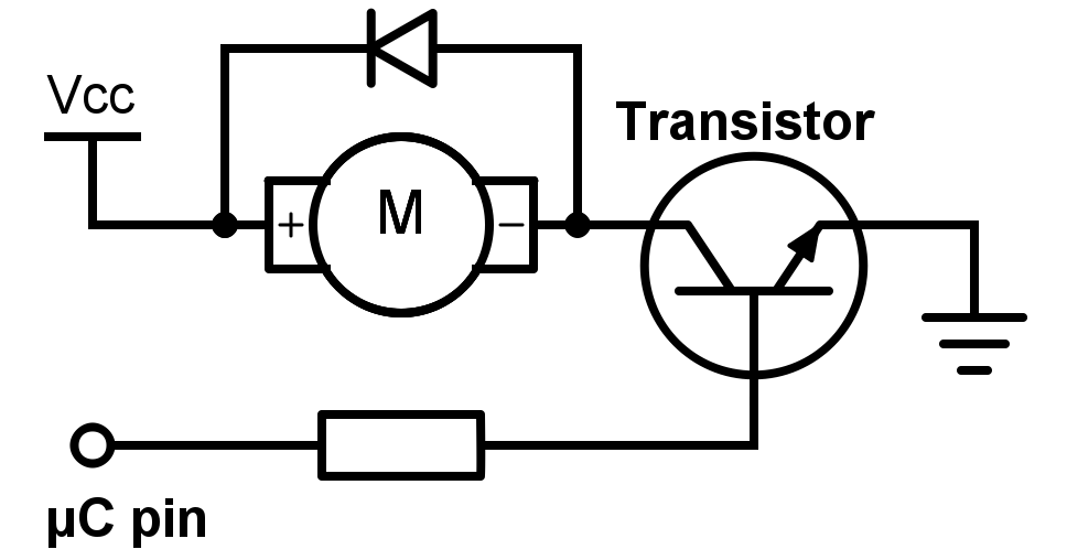 Embedded Tutorial Dc Motors on relay snubber circuit