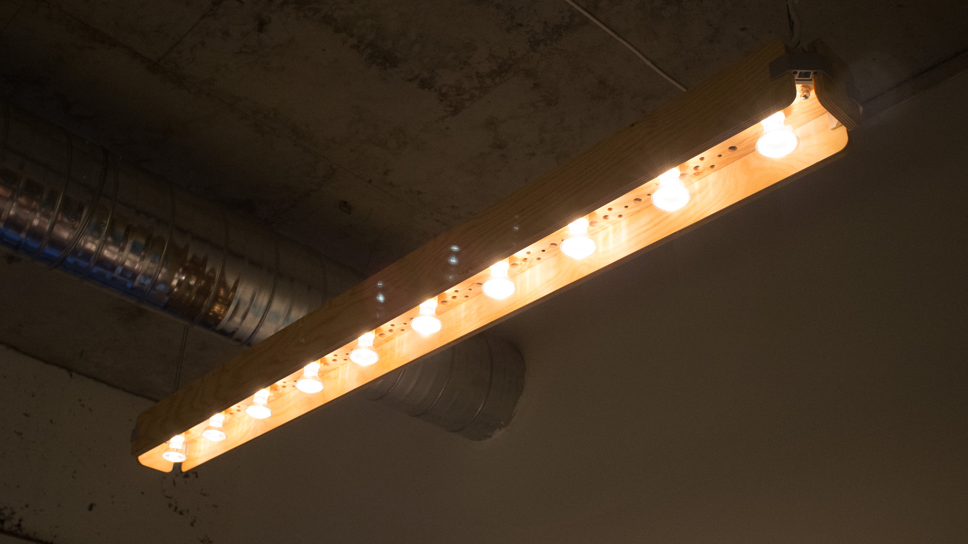 office light fixture. DSCF8585 Office Light Fixture