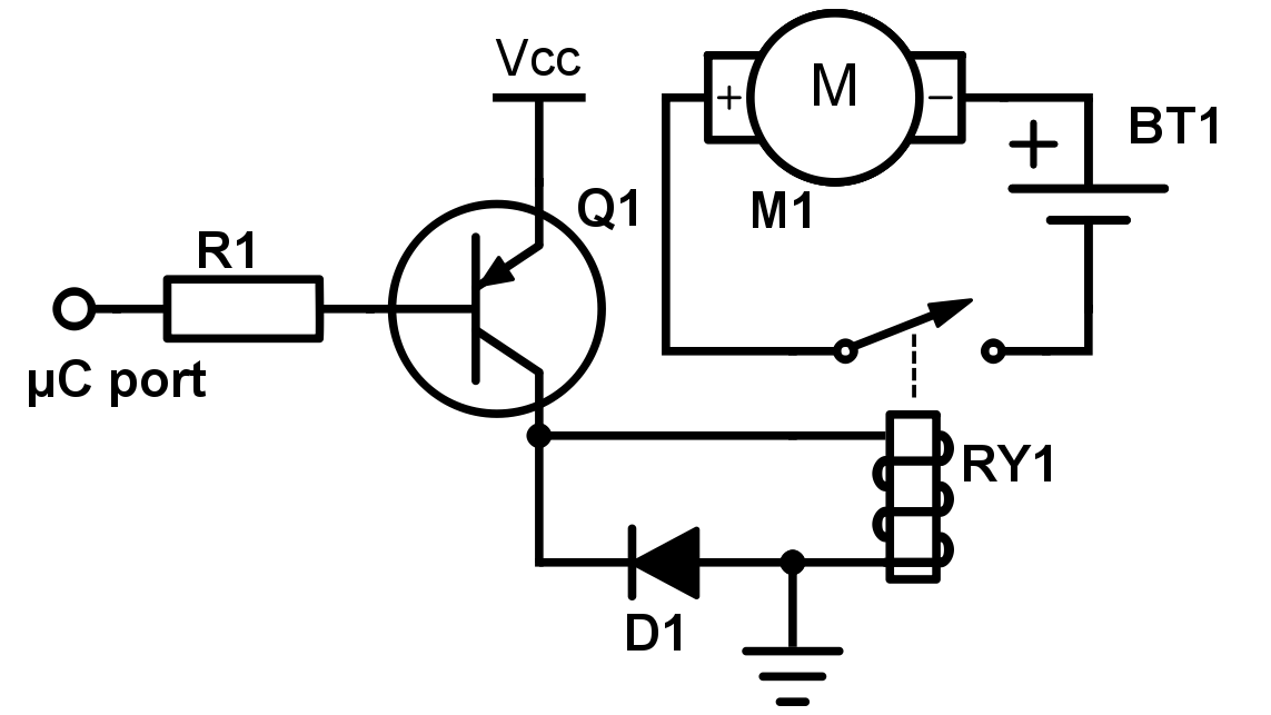 an intro to transistors and relays