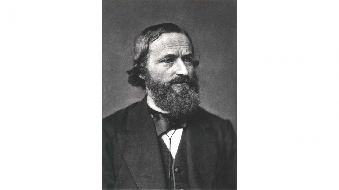Gustav Kirchhoff, the man behind Kirchhoff's Laws.