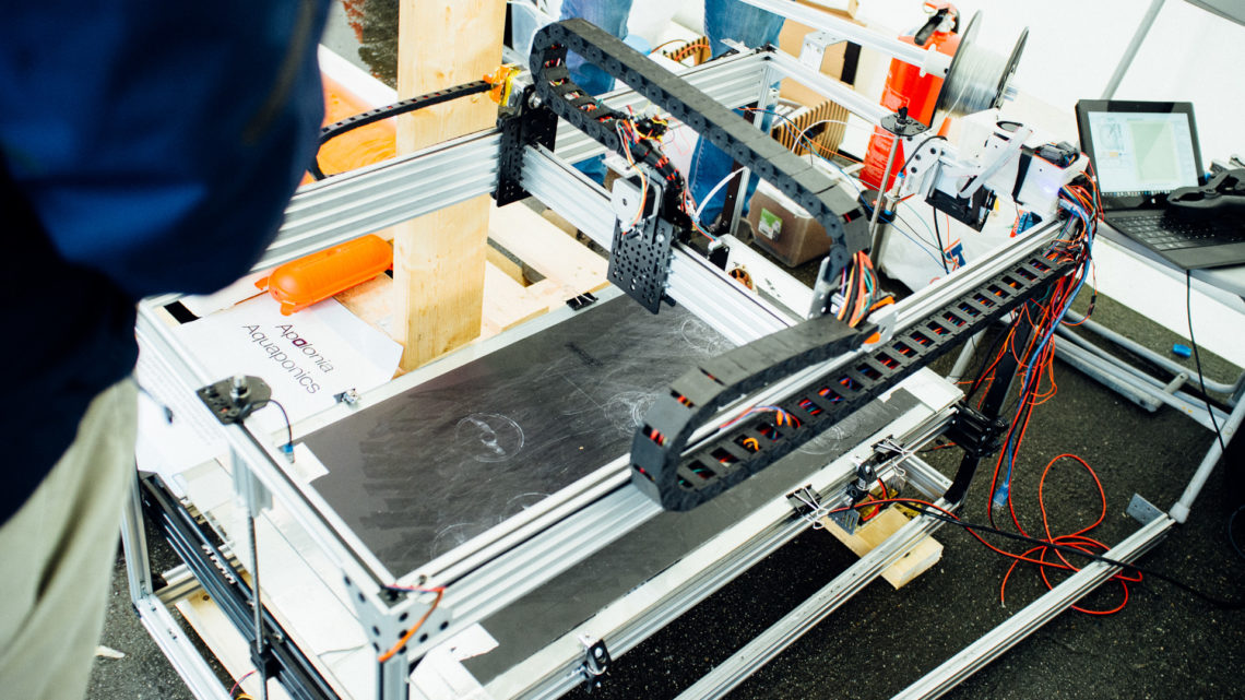 A custom 3D printer