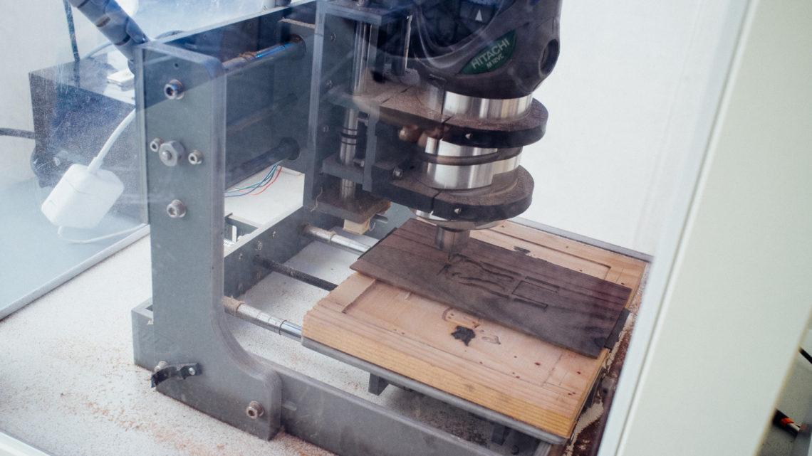 A custom made CNC mill