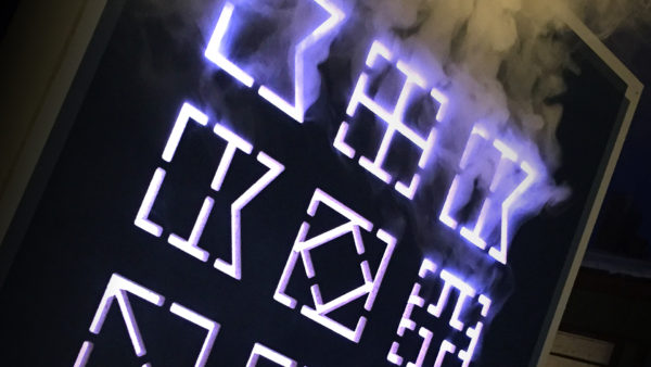 Interactive Smoke and LED Installation