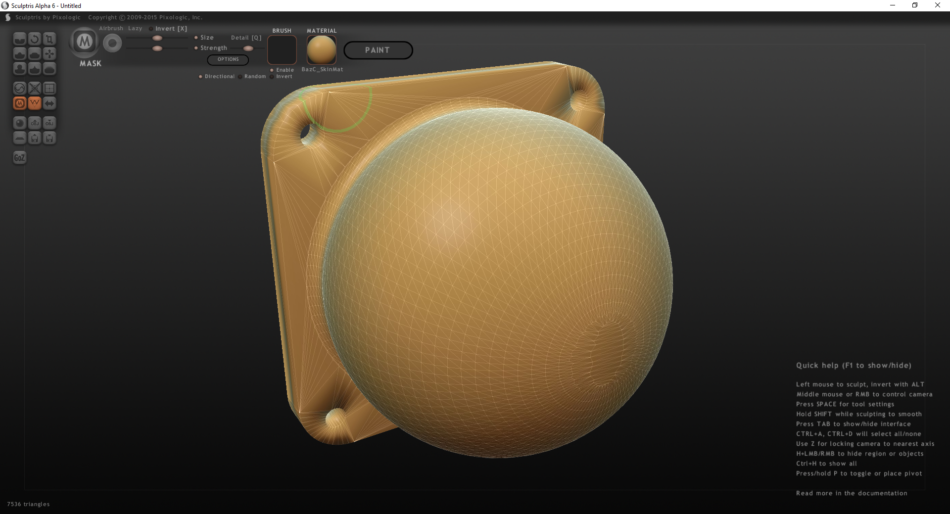 Sculptris First Impressions And 3d Printing