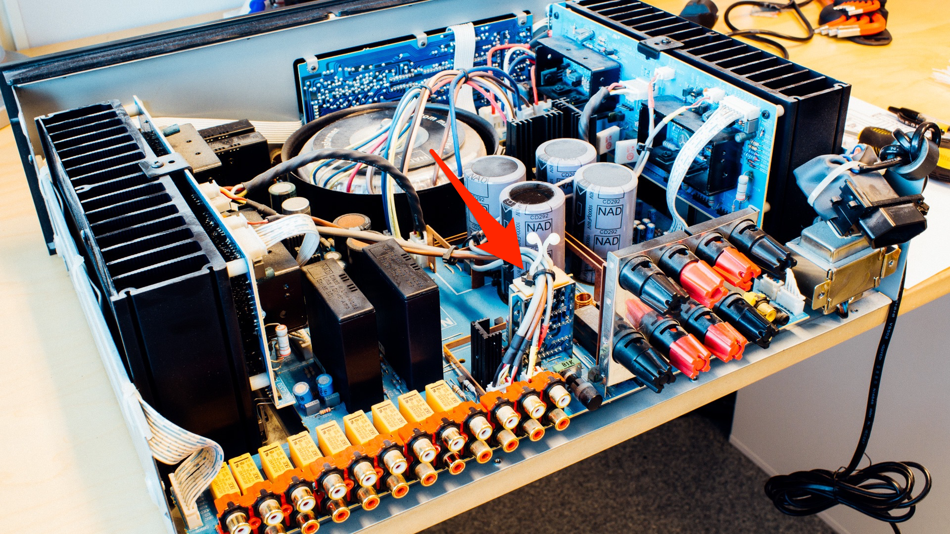 Repairing a NAD C370 Amplifier – The Slow Start Protection