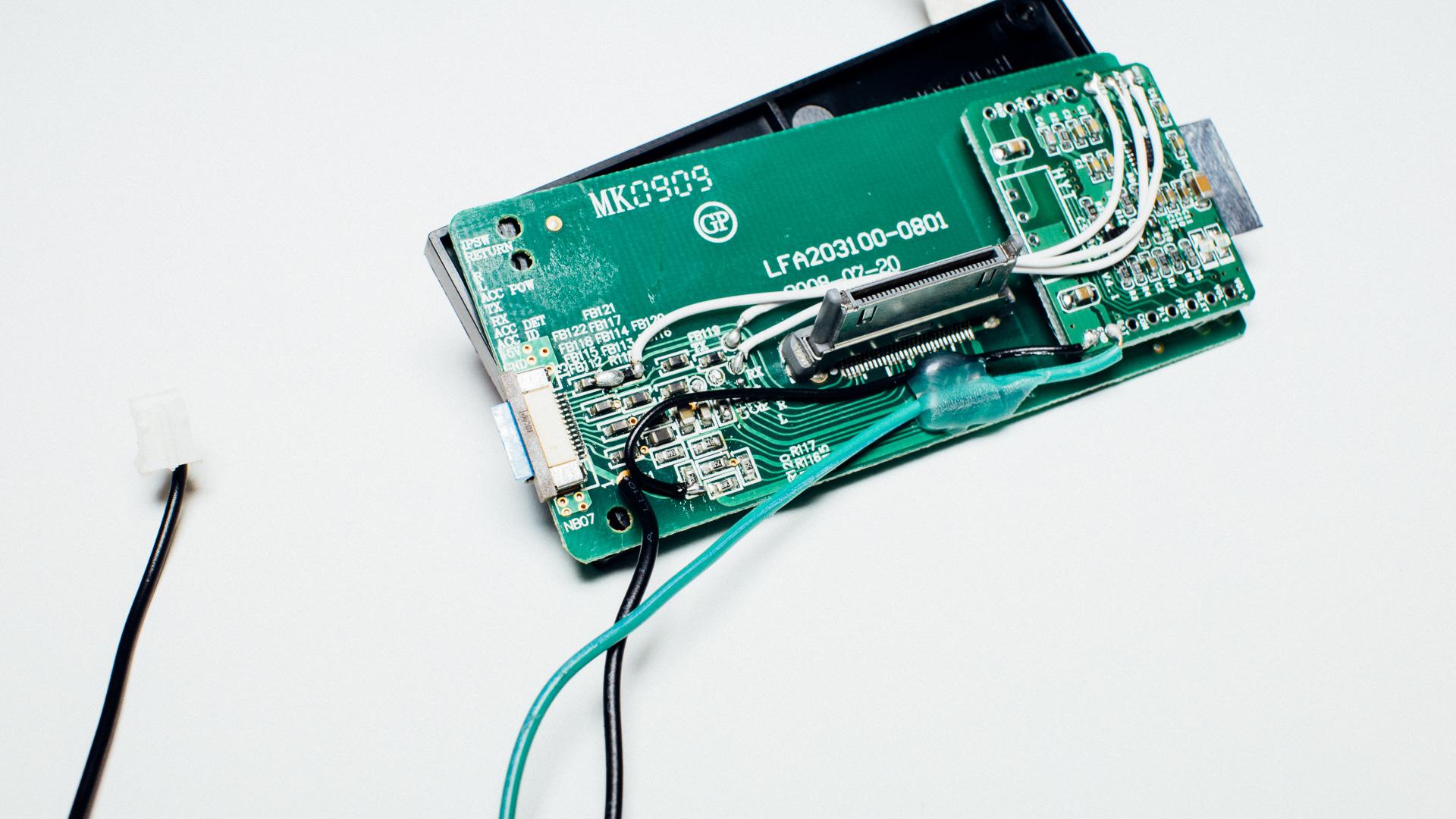 Modifying A Portable Ipod Docking To Bluetooth