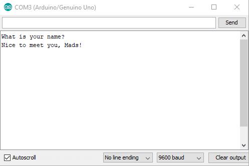 Arduino Tutorial: Serial Inputs